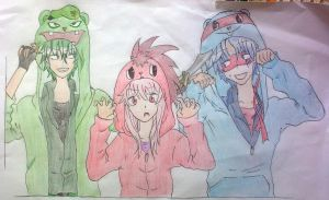 Happy Tree Friends Fan Art by ThamyChan