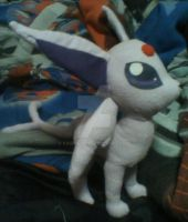 Espeon Plush by kiashone