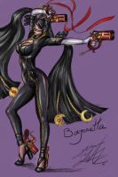 Bayonetta by FalkSMASH