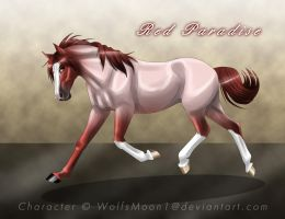 GBR Red Paradiese by WolfsMoon1