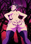 Halloween:  Juri Han's Treat by grimphantom