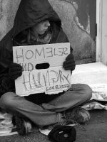 Homeless and Hungry by HippyKitty