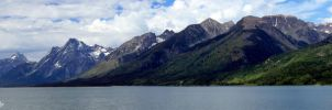 The Grand Tetons by aseaofflames
