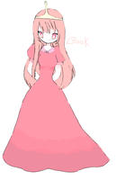 princess bubblegum by blossomlikereadbook