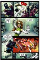 JUDO GIRL 1, page 5 by escomic