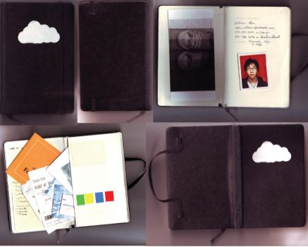 My Creative Moleskine by aestheticartist