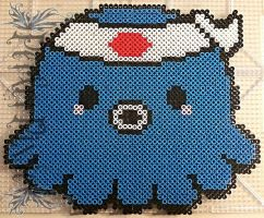 Kawaii Octopus - Takochu by PerlerPixie