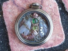Dragonfly pocket watch (3) by MysticReflections