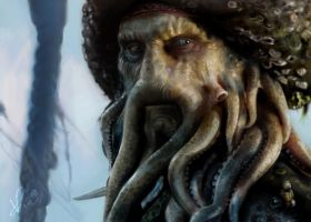 Davy Jones by kuroicherry