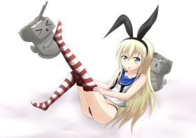 Kantai Collection - Shimakaze ~Re-color~ by syrus8