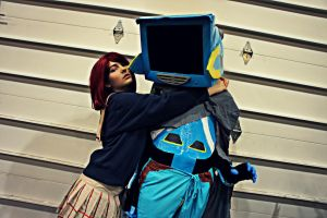 FLCL Mamimi and Canti by OMGcosplay