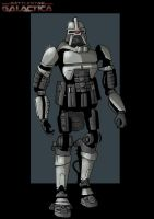 cylon warrior by nightwing1975