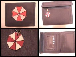 Umbrella Logo Wallet - Black by YourRain