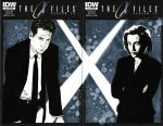 X-Files double blank cover by elena-casagrande