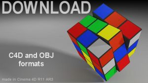 Download - Rubik's Cube Model by 100SeedlessPenguins