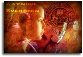 Katniss Everdeen by 4thElementGraphics