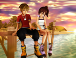 Two Years Later - Sora/Kairi (Birthday Special) by SorasPrincesss