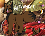 Alexander Ref [Commission] by Ashitu