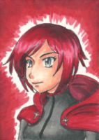 Ruby Sketchcard by CantuArt