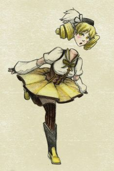 Mami Tomoe by KingSquirtle