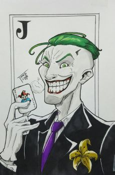 Day #48 The Joker by TomatoStyles