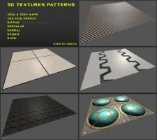 Free 3D textures pack 03 by Nobiax