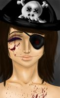 Pirate Self Portrait by andreya133