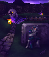.:OC Project:. Graveyard Shift by Anilede
