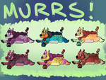 Murrs 50pts each [OPEN] by Chocodopts