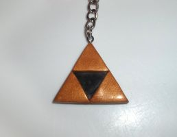 Triforce Keyring by Alistu