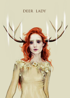 deer lady by ohlazarus