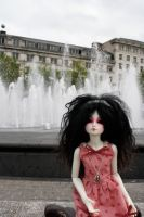 Piccadilly Fountains II by karla-chan