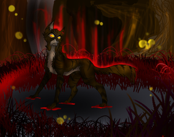 Dark Forest - TigerStar by AmeliaWolfe