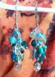 Aqua Dangles by sancha310sp