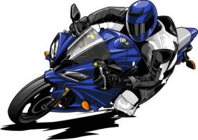 2008 Yamaha R6 by Bmart333