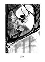 BATMAN up a tree by DaveBullock