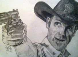 Rick Grimes by khrysta