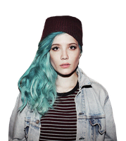 Halsey PNG by wanderrs