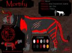 Mortify Reference Sheet by VorpalBeast