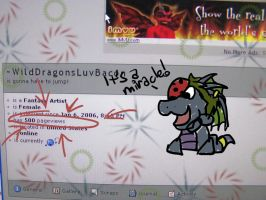 500 PAGEVIEWS by WildDragonsLuvBacon