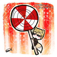 umbrella lollipop by kimidorima