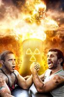 Obama Vs Nejad by DesignerKratos