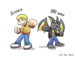 123James and NO Body by GreenMage