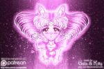 Sailor Chibi Moon, Soldier of Love and Justice by galia-and-kitty