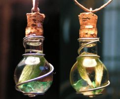 Magic Vial-Balance Air n Earth by Izile
