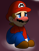 Mario Sad by raygirl12