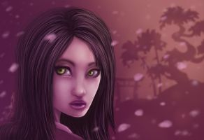 Japanese Blossom by thedarkgecko