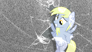Derpy Hooves Wallpaper by Stratolicious
