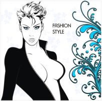 fashion vector style by cycaroon