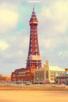 Blackpool Tower by DragonRichard
